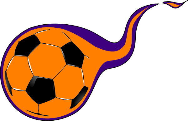 Flaming soccer ball clipart transparent library Free Soccer Ball with Flames Clipart Image - 9787, Flaming Soccer ... transparent library
