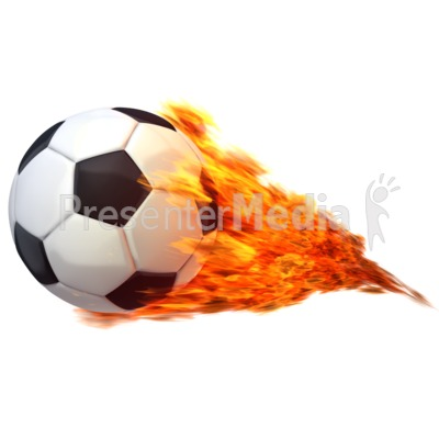 Flaming soccer ball clipart graphic royalty free Soccerball Flaming - Presentation Clipart - Great Clipart for ... graphic royalty free
