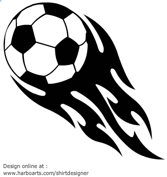 Flaming soccer ball clipart svg library 17 Best images about Soccer on Pinterest | Kids playing, Vector ... svg library