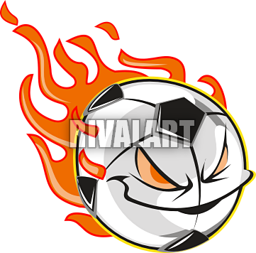 Flaming soccer ball clipart banner free library Flaming Soccer Ball Clip Art | Clipart Panda - Free Clipart Images banner free library