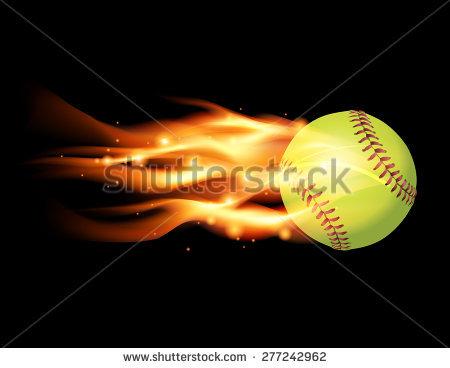 Flaming softball clipart vector black and white stock Flaming Softball Stock Photos, Royalty-Free Images & Vectors ... vector black and white stock