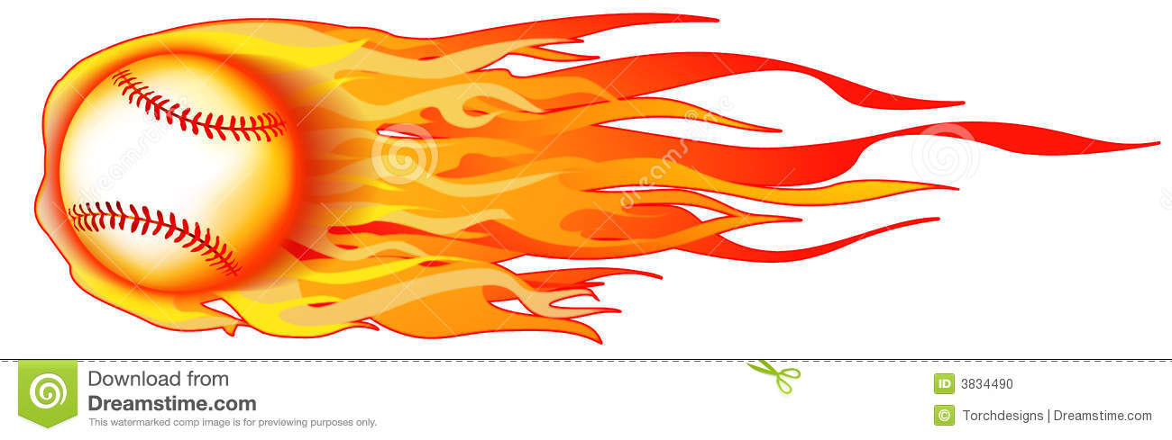Flaming softball clipart svg black and white download Softball Stock Illustrations – 2,615 Softball Stock Illustrations ... svg black and white download