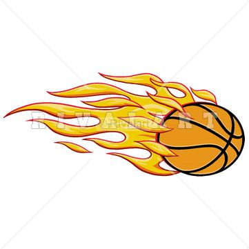 Flaming softball clipart clipart Sports Clipart Image of Softball Logo With Swoosh http://www ... clipart