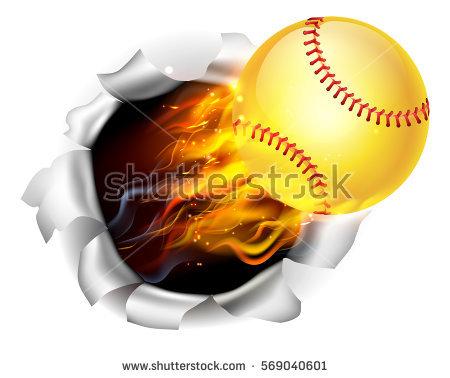 Flaming softball clipart transparent Flaming Softball Stock Photos, Royalty-Free Images & Vectors ... transparent