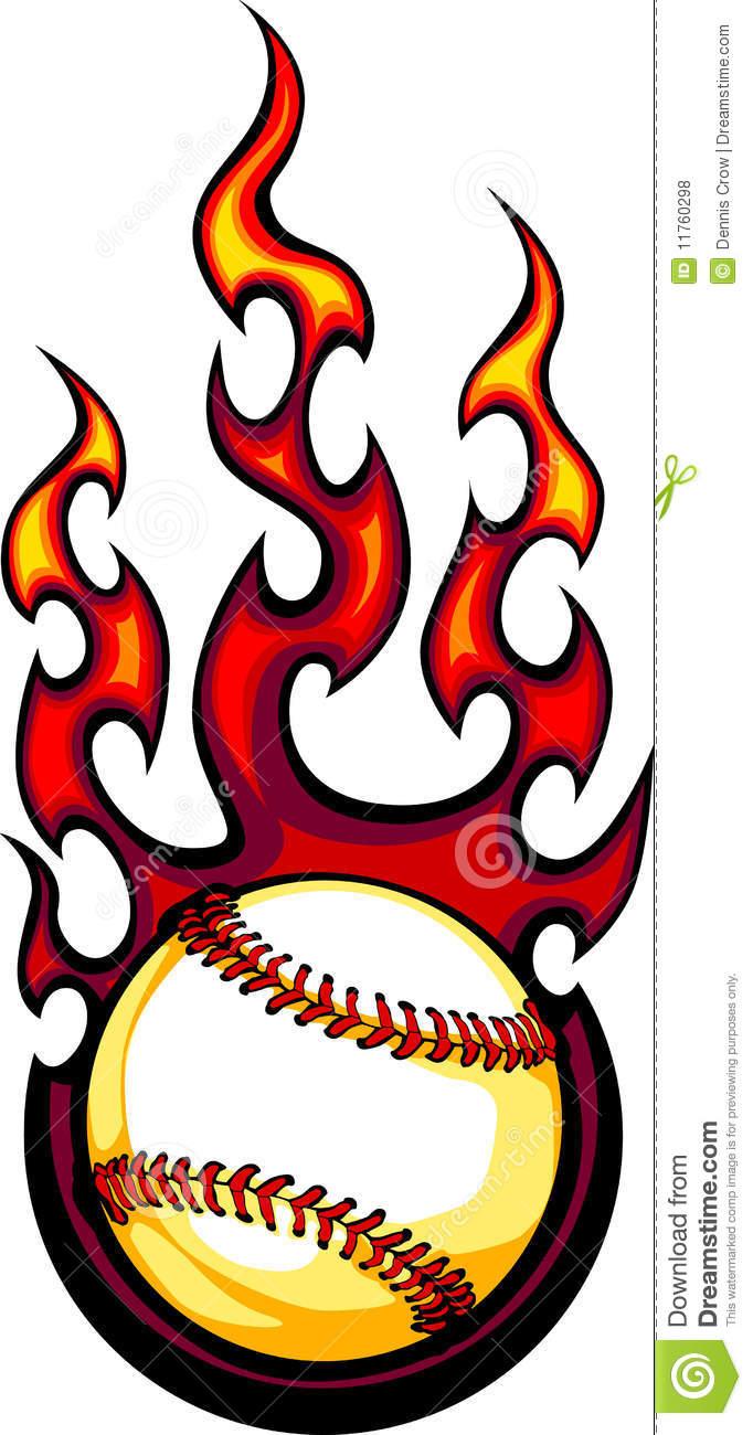 Flaming softball clipart jpg free Flaming softball clipart - ClipartFest jpg free