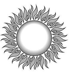 Flaming sun clipart image stock Flaming sun clipart - ClipartFest image stock