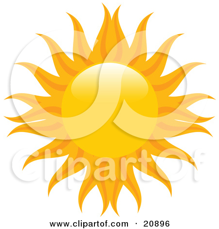 Flaming sun clipart banner royalty free Royalty-Free (RF) Orange Sun Clipart, Illustrations, Vector ... banner royalty free