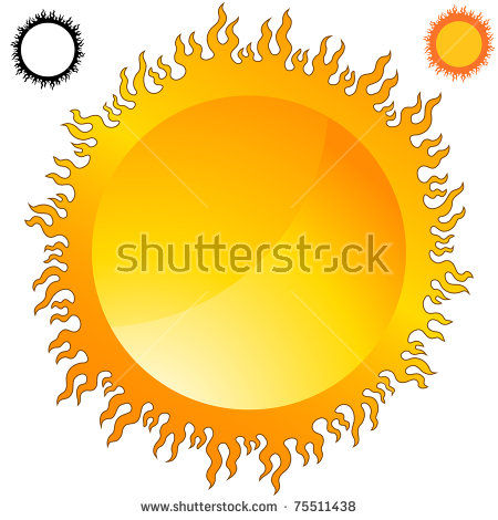 Flaming sun clipart graphic black and white Flaming Sun Stock Photos, Royalty-Free Images & Vectors - Shutterstock graphic black and white