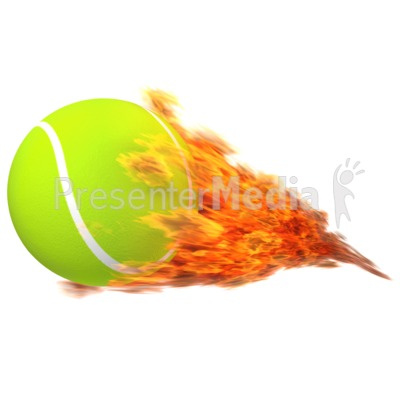 Flaming tennis ball clipart image freeuse download Tennisball Flaming - Sports and Recreation - Great Clipart for ... image freeuse download