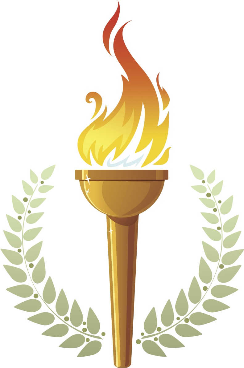 Flaming torch clipart freeuse library Torch clip art - ClipartFest freeuse library