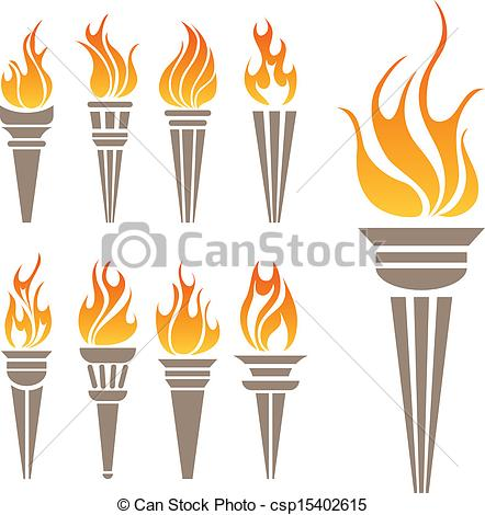 Flaming torch clipart clipart freeuse library Torch Stock Illustrations. 5,557 Torch clip art images and royalty ... clipart freeuse library