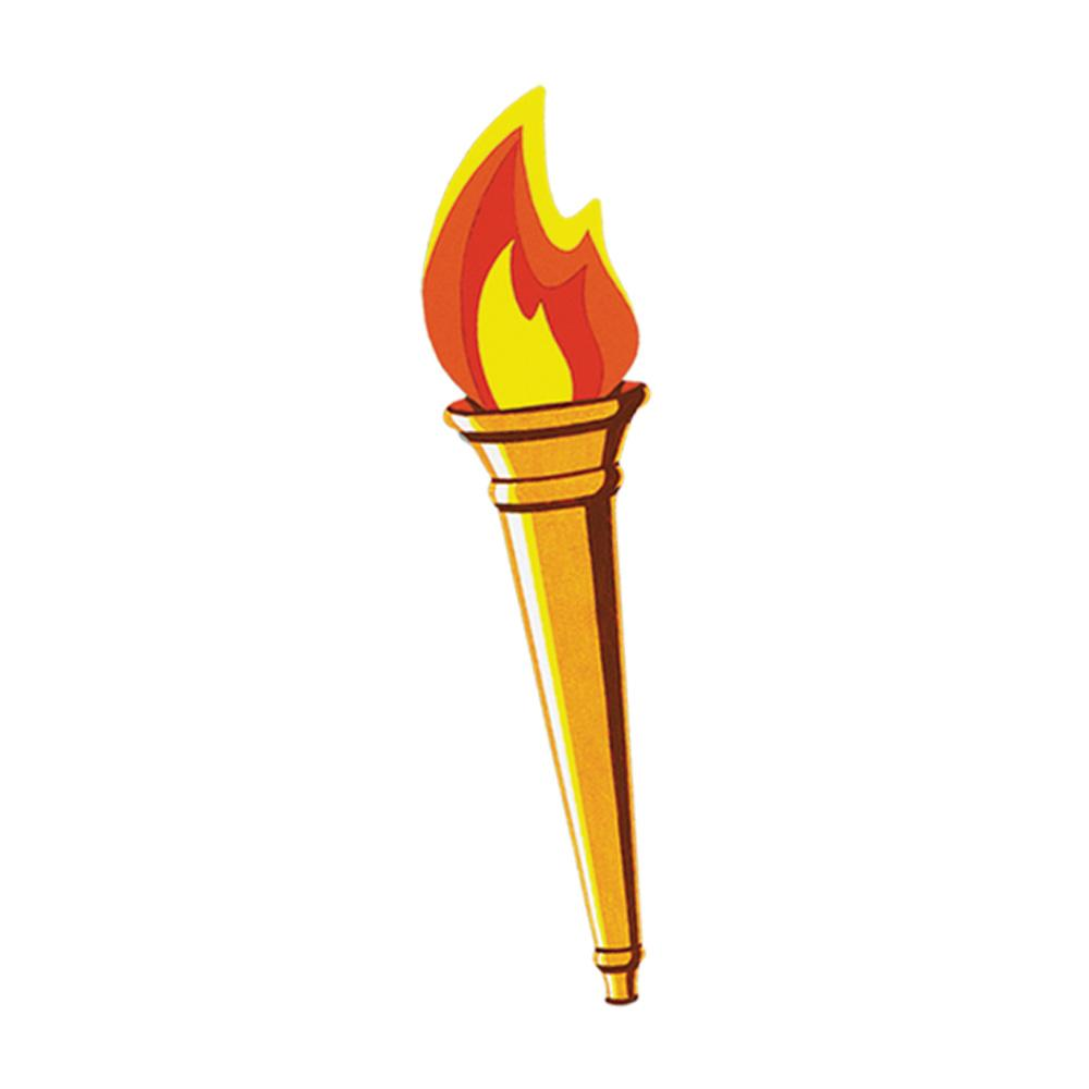 Flaming torch clipart vector library download Torch clipart free - ClipartFest vector library download