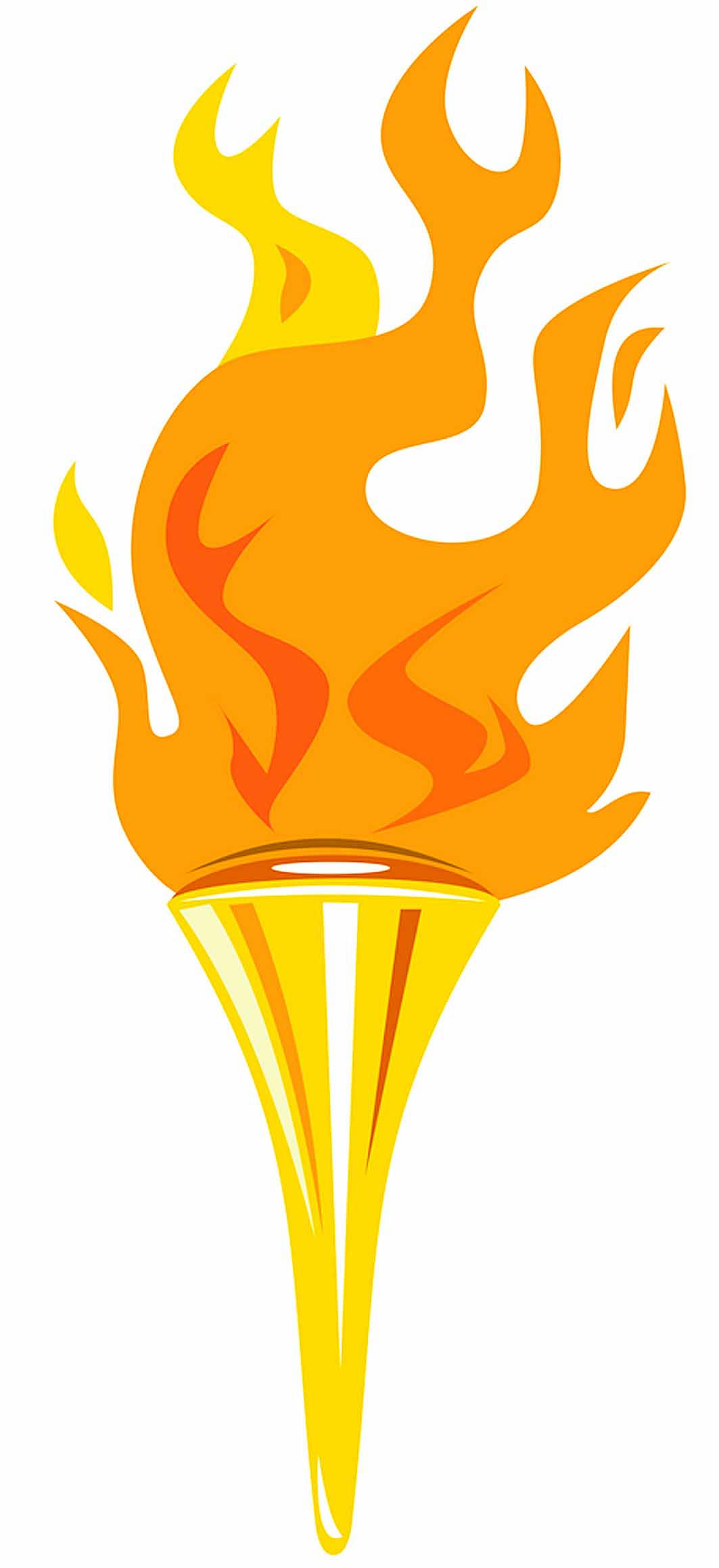 Flaming torch clipart clip art freeuse download Flaming torch clipart - ClipartFest clip art freeuse download
