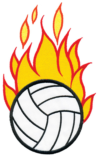 Flaming volleyball clipart image transparent library Flaming Volleyball Clipart - Clipartion.com image transparent library