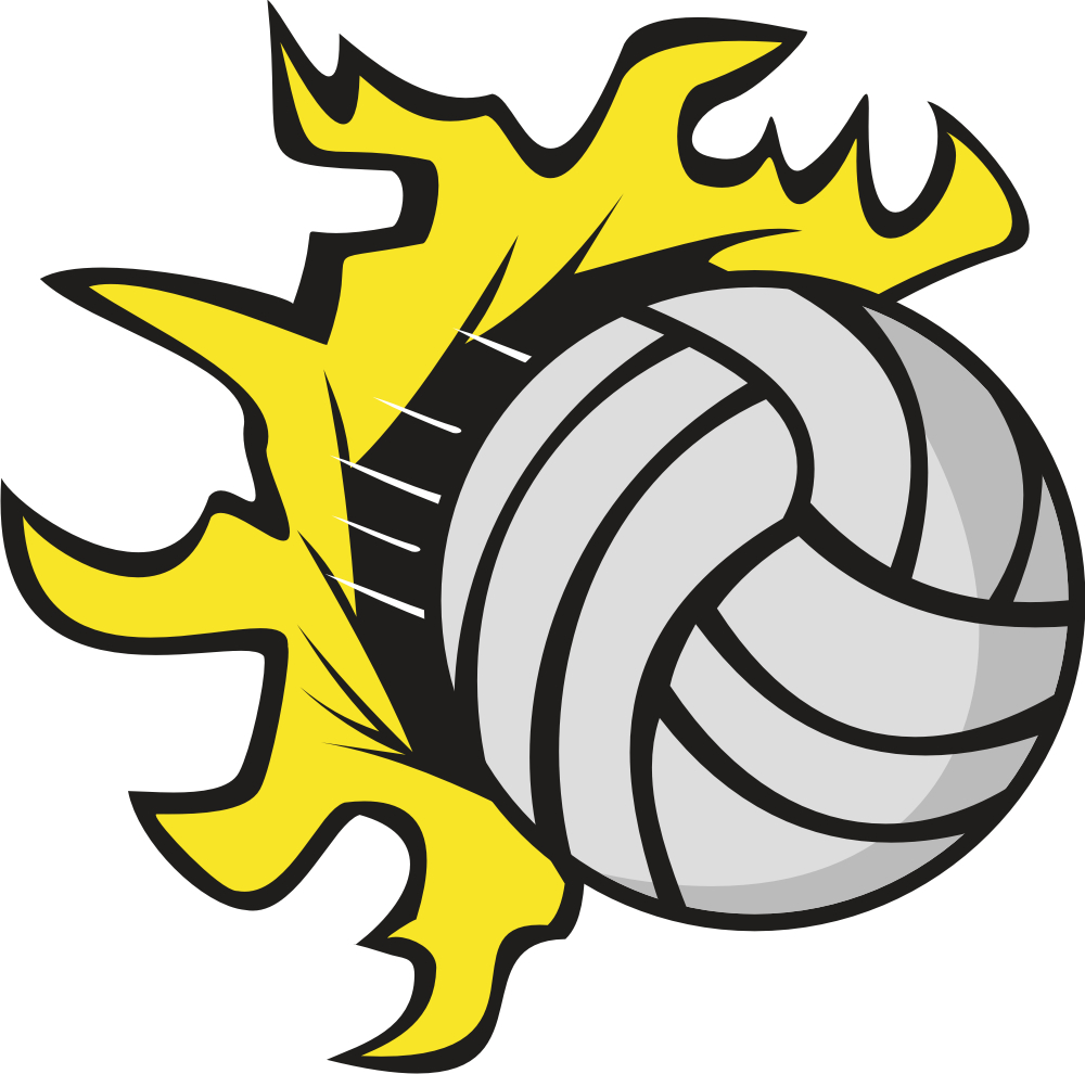 Flaming volleyball clipart svg transparent Volleyball Clipart - Clipart Kid svg transparent