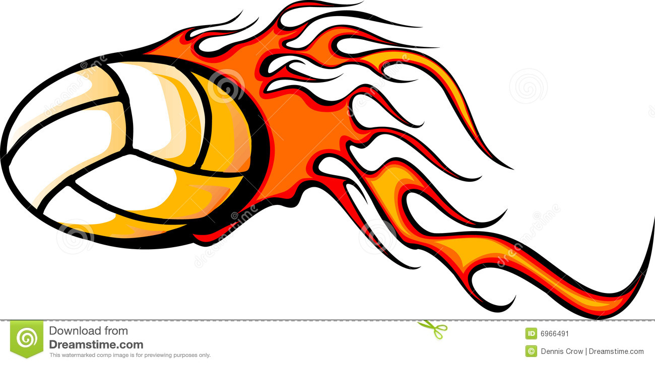 Flaming volleyball clipart graphic Flaming Ball Clipart - Clipart Kid graphic