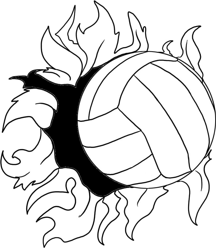 Flaming volleyball clipart svg royalty free library Flaming Volleyball Clipart | Clipart Panda - Free Clipart Images svg royalty free library
