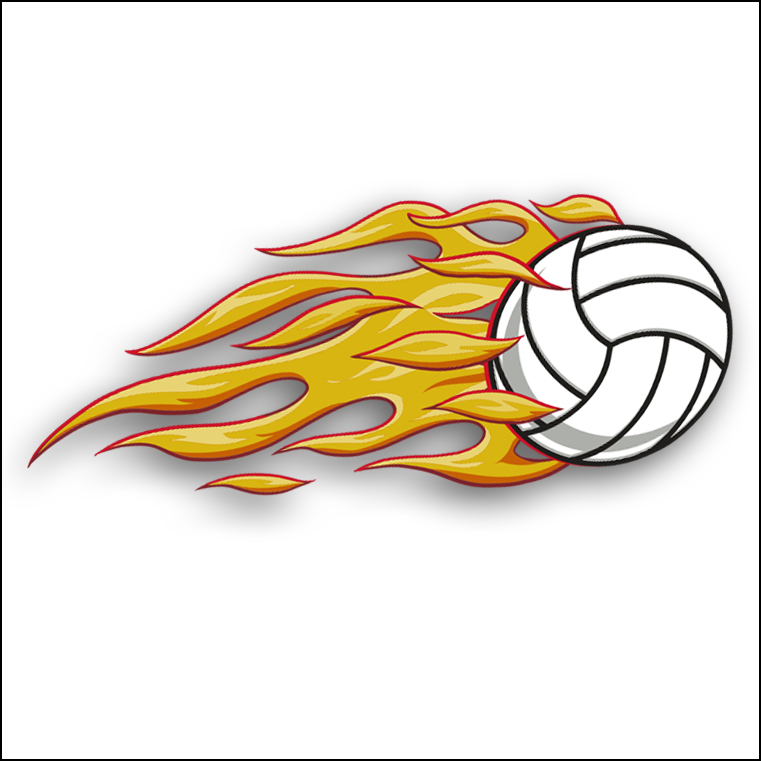 Flaming volleyball clipart graphic transparent download Flaming Volleyball Clipart - Cliparts.co graphic transparent download