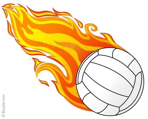 Flaming volleyball clipart clip black and white download Flaming volleyball clipart - ClipartFest clip black and white download