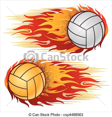 Flaming volleyball clipart picture free stock Volleyball Illustrations and Clip Art. 10,089 Volleyball royalty ... picture free stock