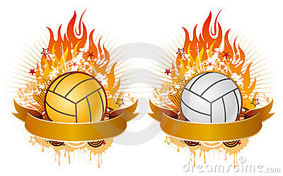 Flaming volleyball clipart image transparent download Volleyball Flames Stock Photos, Images, & Pictures - 37 Images image transparent download