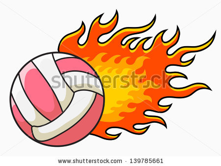 Flaming volleyball clipart svg transparent library Flaming Volleyball Clipart | Clipart Panda - Free Clipart Images svg transparent library