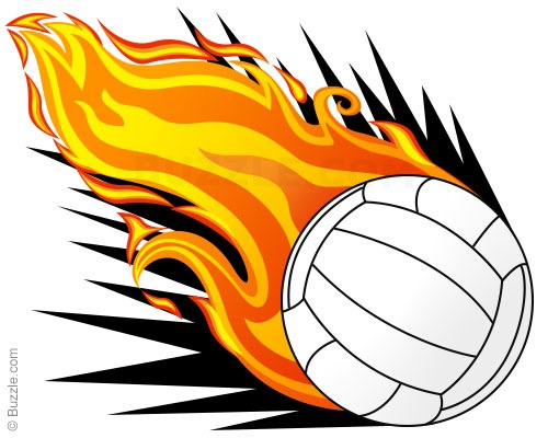 Flaming volleyball clipart png royalty free Flaming volleyball clipart - ClipartFest png royalty free