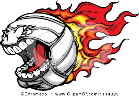 Flaming volleyball clipart png free stock Flaming Volleyball Clipart | Clipart Panda - Free Clipart Images png free stock