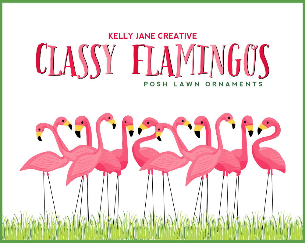 Flamingo border clipart. Gclipart com
