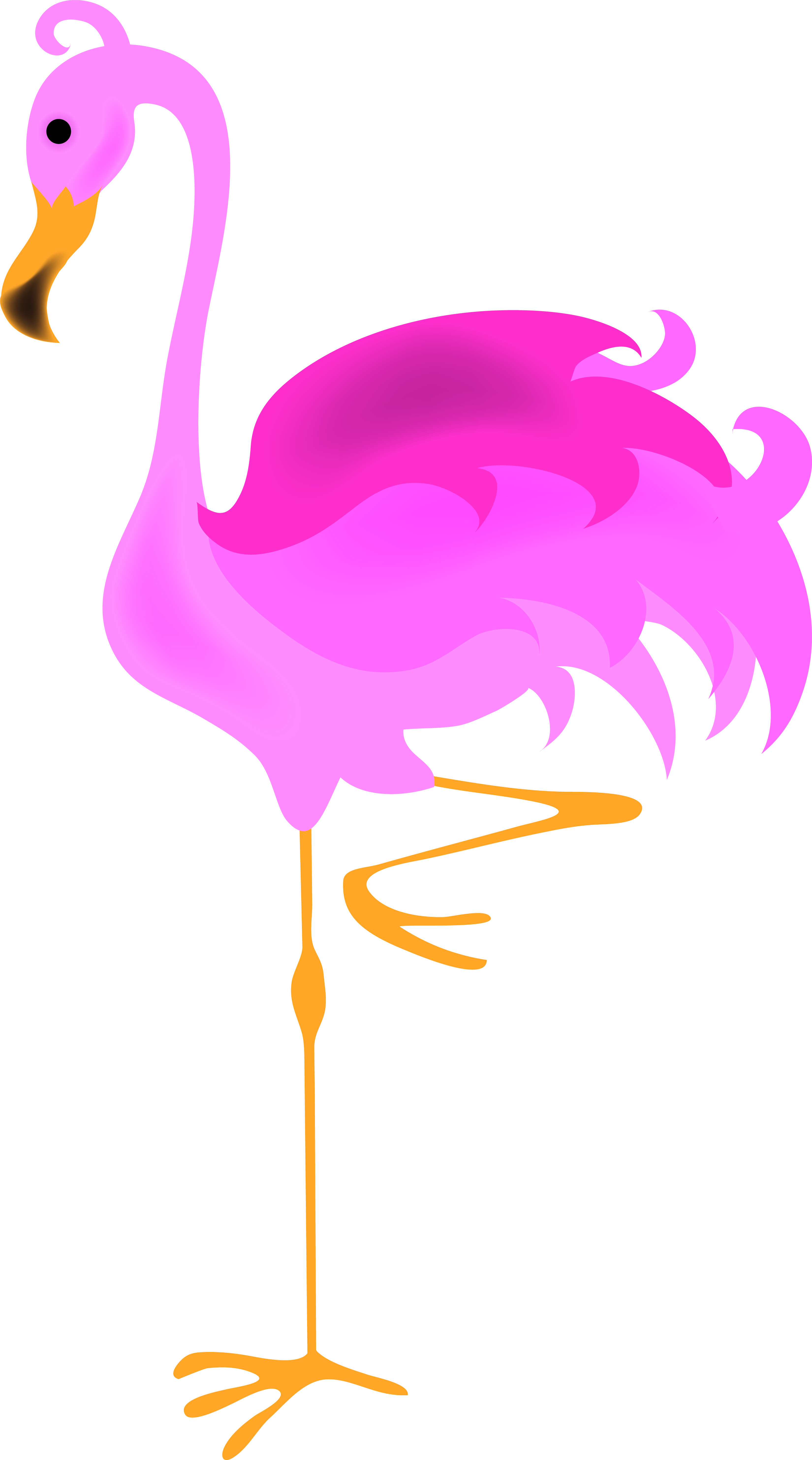 Free flamingo clipart. Pink cliparts download clip