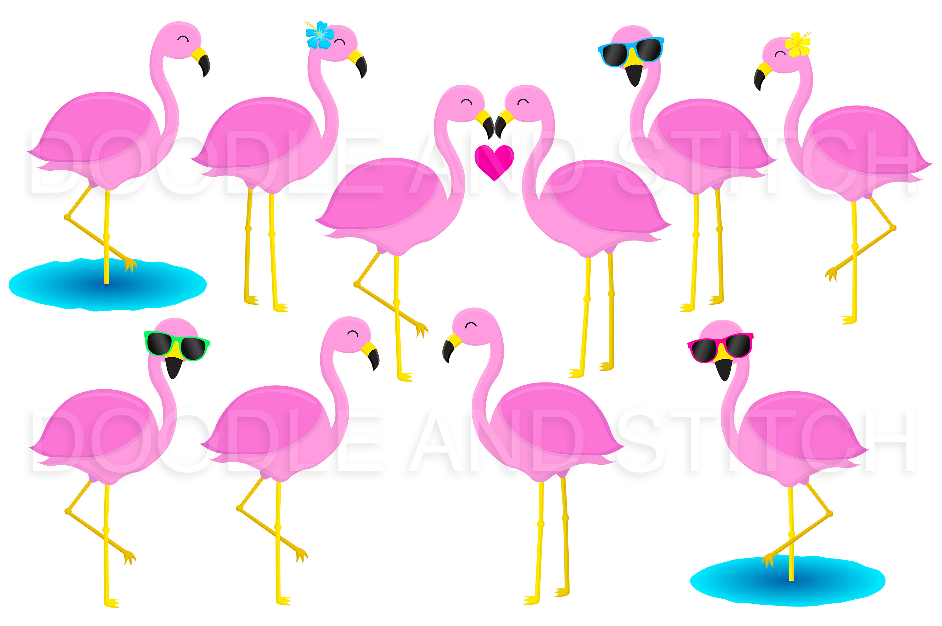 Flamingo sunglasses clipart clip art transparent stock Flamingo clipart sunglasses - 103 transparent clip arts, images and ... clip art transparent stock