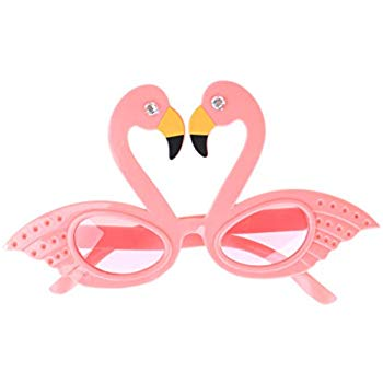 Flamingo sunglasses clipart svg free stock TUANTUAN 1 Pcs Funny Flamingo Shape Party Glasses Hawaiian Tropical  Sunglasses for Summer Fancy Dress Party Costume Photo Props svg free stock