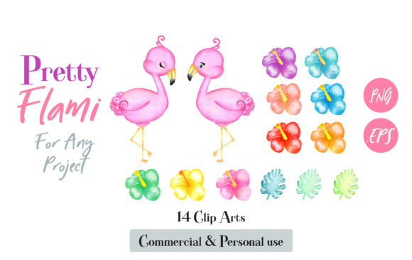 Flamingo watercolor clipart svg royalty free stock Flamingo Watercolor Clip Art svg royalty free stock