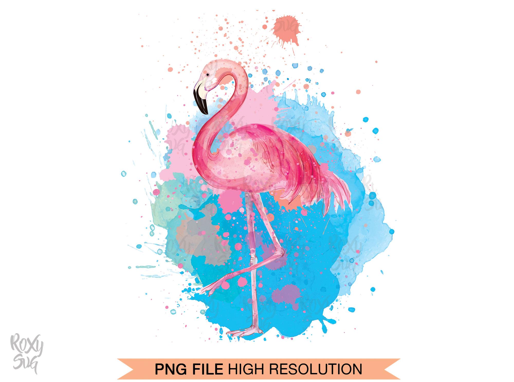 Flamingo watercolor clipart jpg freeuse download Watercolor Flamingo Clipart jpg freeuse download