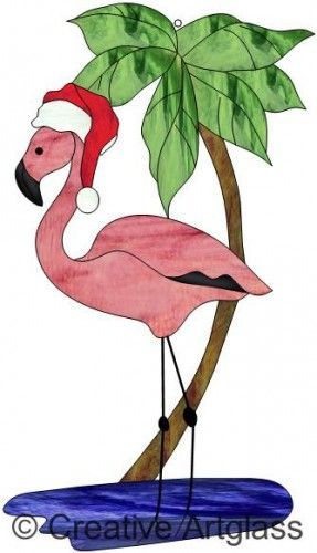Flamingo with santa hat clipart. X dumielauxepices