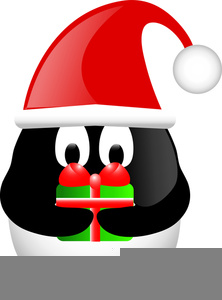 Flamingo with santa hat clipart. Free images at clker