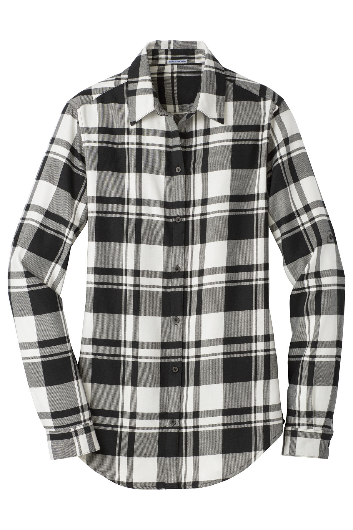 Flannel shirt outline black and white clipart banner transparent download Port Authority® Ladies Plaid Flannel Tunic | Ladies/Women | Woven ... banner transparent download
