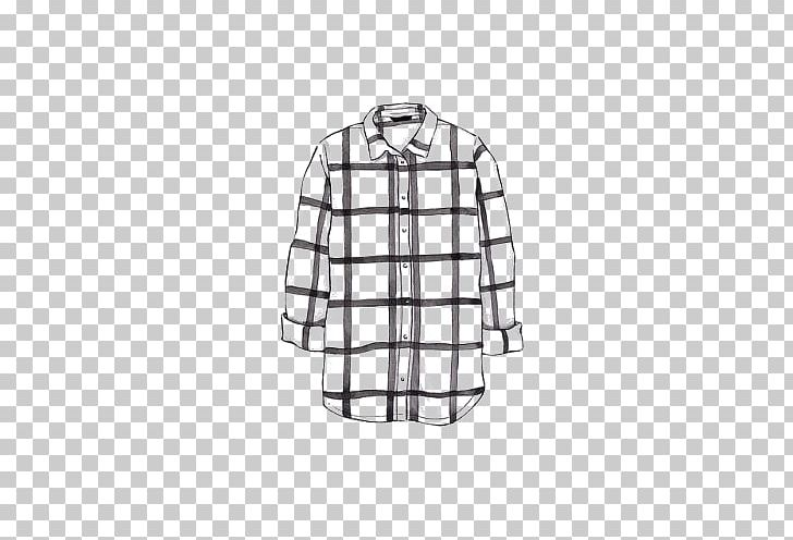 Flannel shirt outline black and white clipart image black and white stock T-shirt Drawing Flannel Watercolor Painting PNG, Clipart, Black And ... image black and white stock