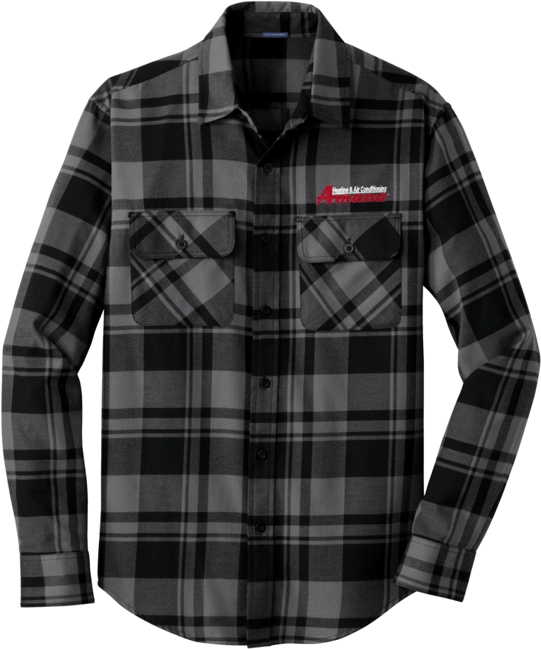 Flannel shirt outline black and white clipart clip royalty free HD A1820m Men\'s Plaid Flannel Shirt - Black Grey Flannel Shirt ... clip royalty free
