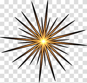 Flash of light clipart. Transparent background png cliparts