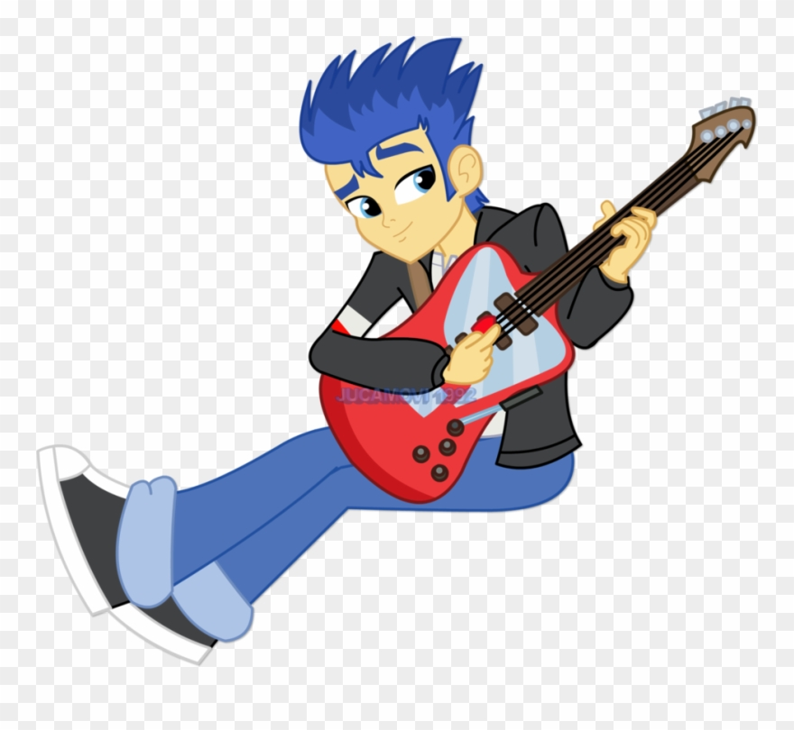 Flash sentry clipart clip transparent Flash Sentry Playing The By Jucamovi On - Flash Sentry Play Guitar ... clip transparent