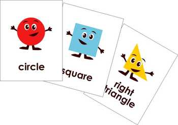 Flashcards clipart png download Teaching Shapes Clipart and Flashcards by Poppydreamz png download