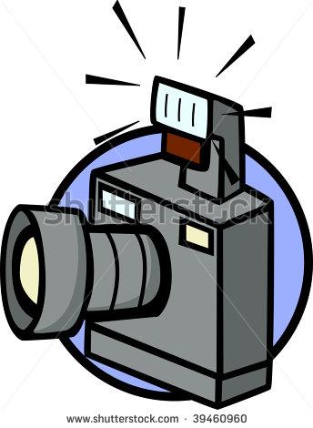 Flashing camera clip art jpg black and white library Gallery For > Camera Flash Clipart jpg black and white library