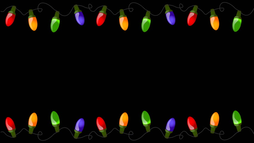 Flashing christmas lights clipart svg royalty free library Christmas Lights Stock Footage Video - Shutterstock svg royalty free library