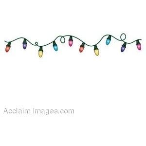 Flashing christmas lights clipart svg free library Christmas lights - Polyvore svg free library