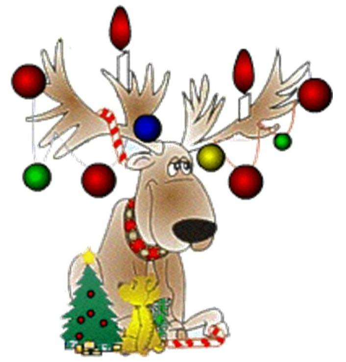 Flashing clip art banner transparent Flashing reindeer clipart - ClipartFest banner transparent