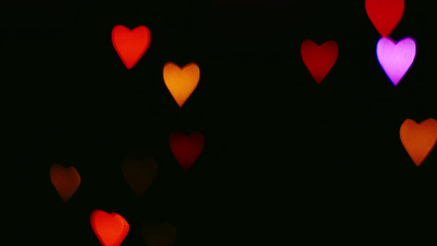 Flashing heart clipart picture stock Flashing Hearts On Valentine's Day Stock Footage Video 8871295 ... picture stock