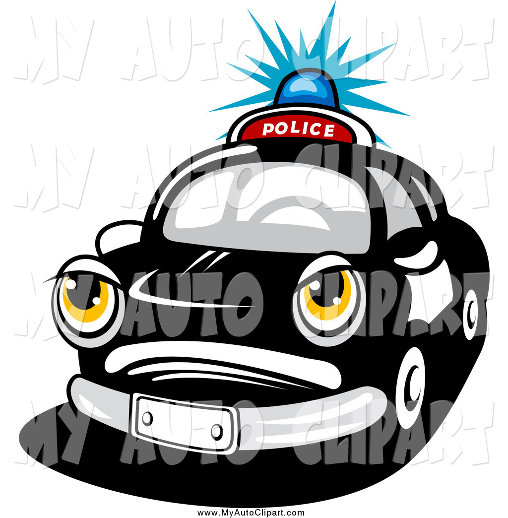 Flashing police car lights clipart image freeuse stock Royalty Free Security Stock Auto Designs image freeuse stock