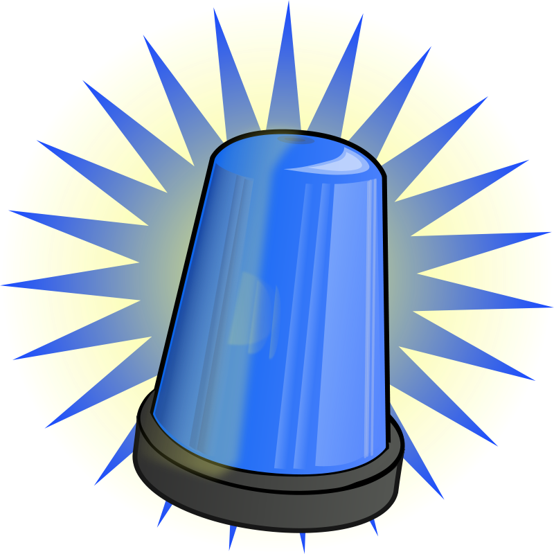 Deputy car clipart. Flashing police lights clipartfest