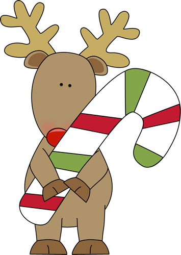 Flashing reindeer clipart svg freeuse stock Candy Cane Reindeer Clipart - Clipart Kid svg freeuse stock